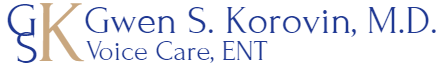 Dr Gwen Korovin, New York ENT and Professional Voice Specialist