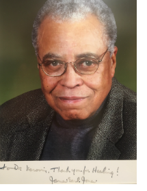 """Thank you for healing!"" - James Earl Jones"